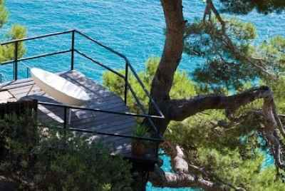 Luxury villa on the first sea line in Tossa De Mar